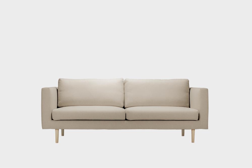 Cosy-sohvan irtopäällinen laten värisellä Soft-kankaalla.