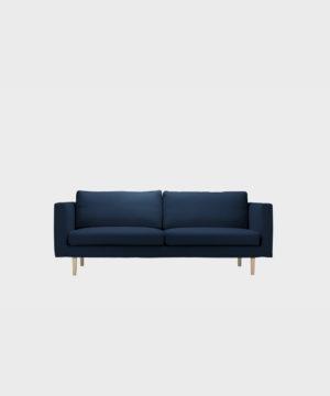 Cosy-sohvan irtopäällinen tummansinisellä Soft-kankaalla.