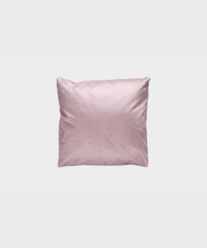 Moon-tyyny vaaleanpunaisella Musone-kankaalla.