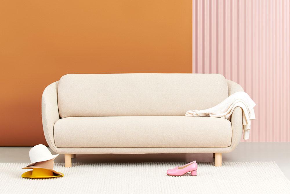 Bobo Wool -sohva Hallingdal-kankaalla