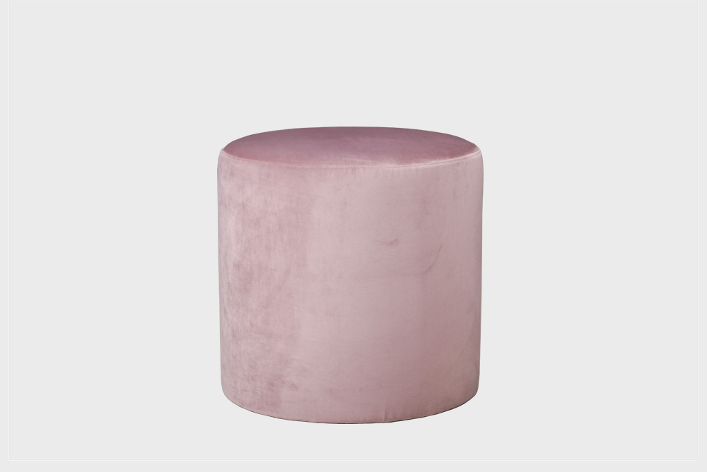 Pieni Moon-rahi vaaleanpunaisella Soft-kankaalla.