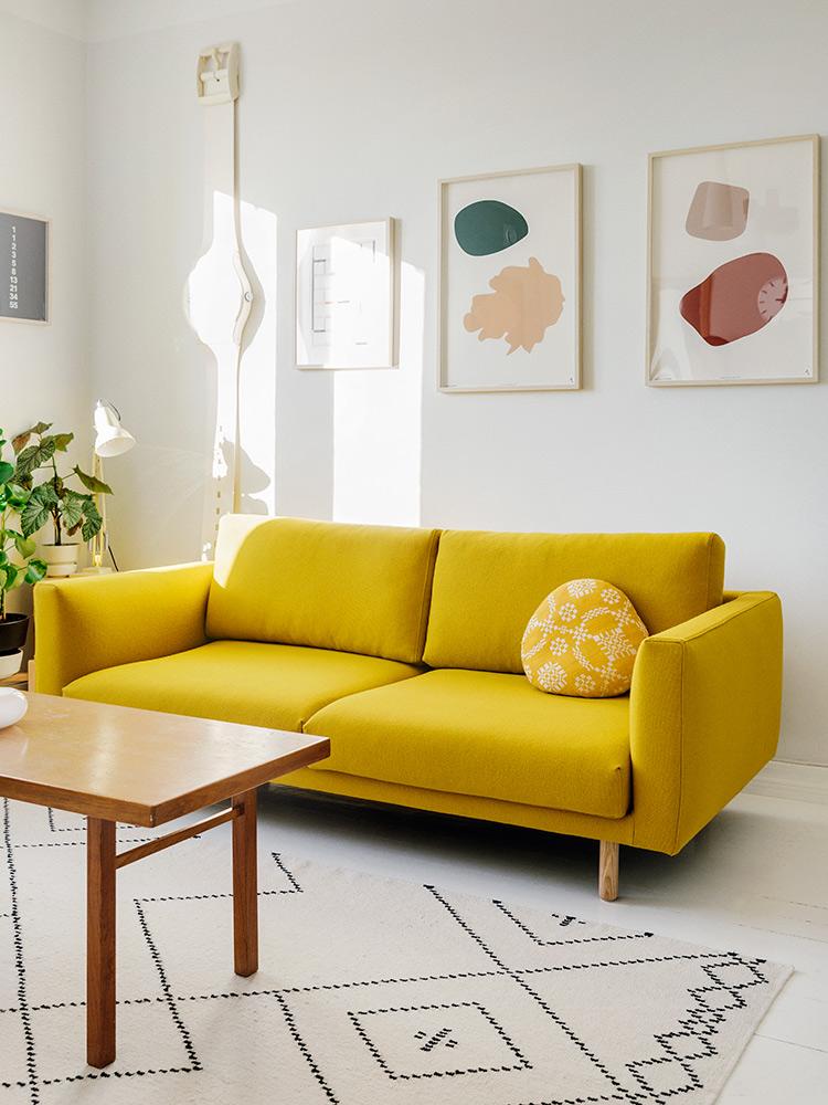 Hakola Friends: Cosy Pocket Wool -sohva Tomin kotona