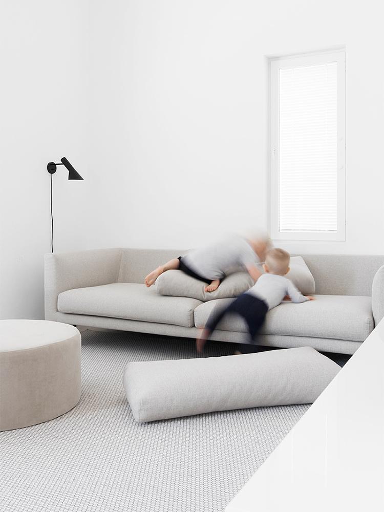 Hakola Cosy Pocket -sohva Tiina Ilmavirran kotona