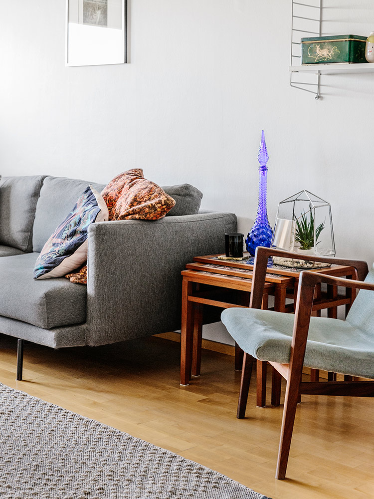 Hakola Friends: Lazy Classic -sohva Terhi Pölkin kotona