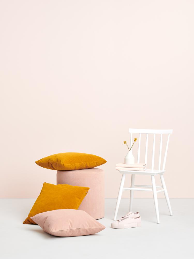 Hakola Pinna-tuoli, Moon-rahi ja tyyny.