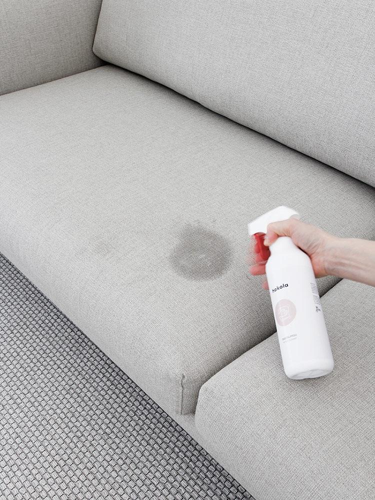 Hakola Cosy Pocket -sohva ja tekstiilipesuaine