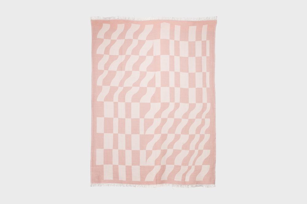Hakola Laine villahuopa vaaleanpunainen