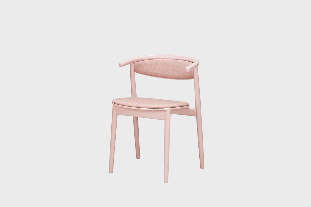 Hakola Mama-tuoli vaaleanpunaisella Canvas 2 -kankaalla