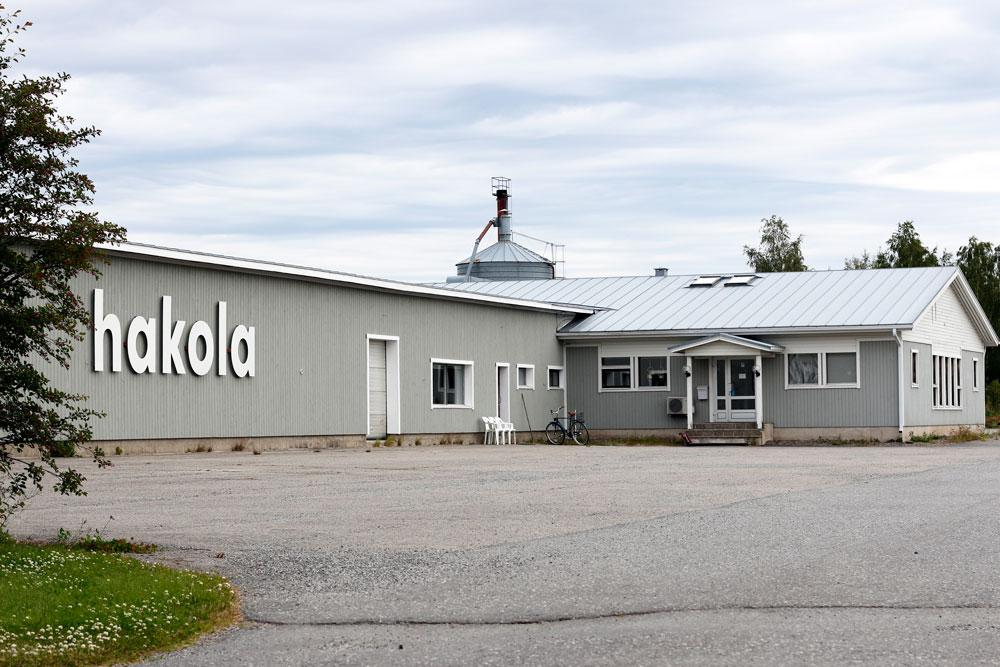 Hakolan tehdas Jurvan Niemenkylässä