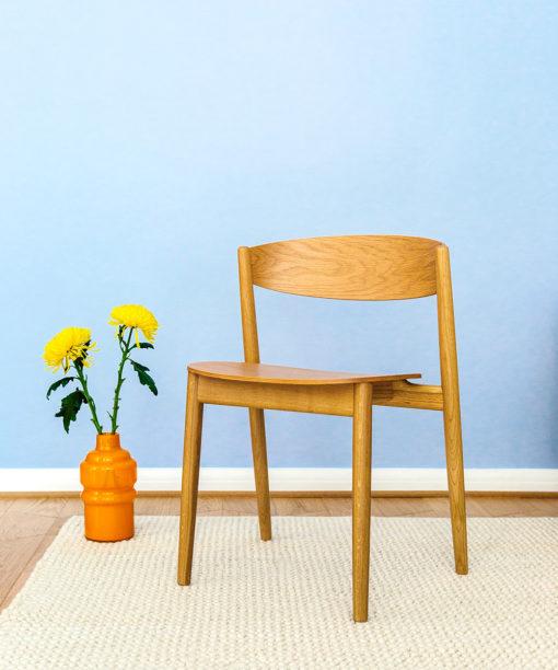 Hakola käsinojaton Mama-tuoli tammi