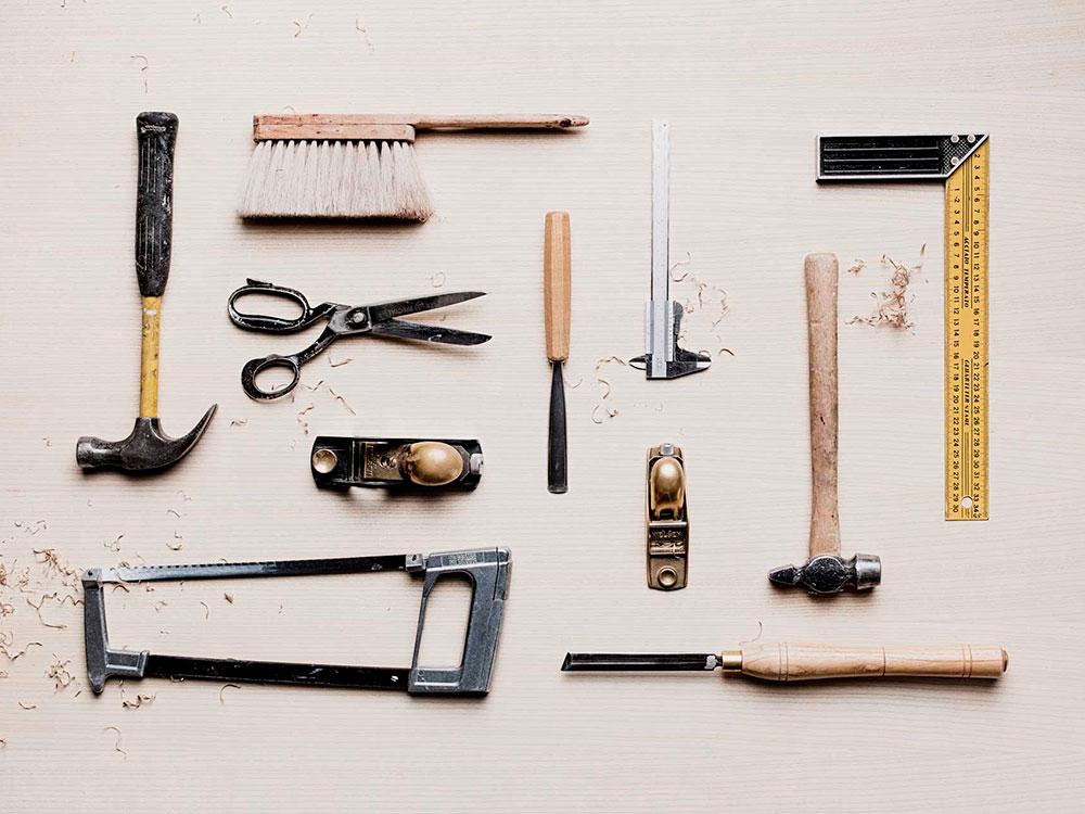 Hakola: Puusepän työkalut