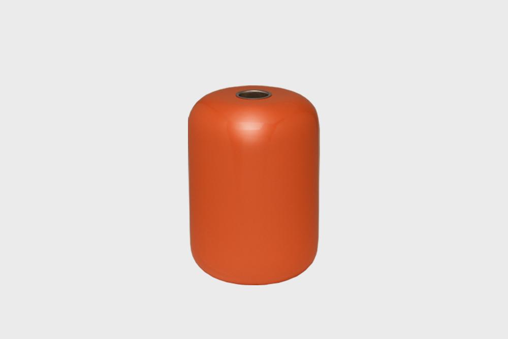 Hakola Soma-kynttilänjalka punainen