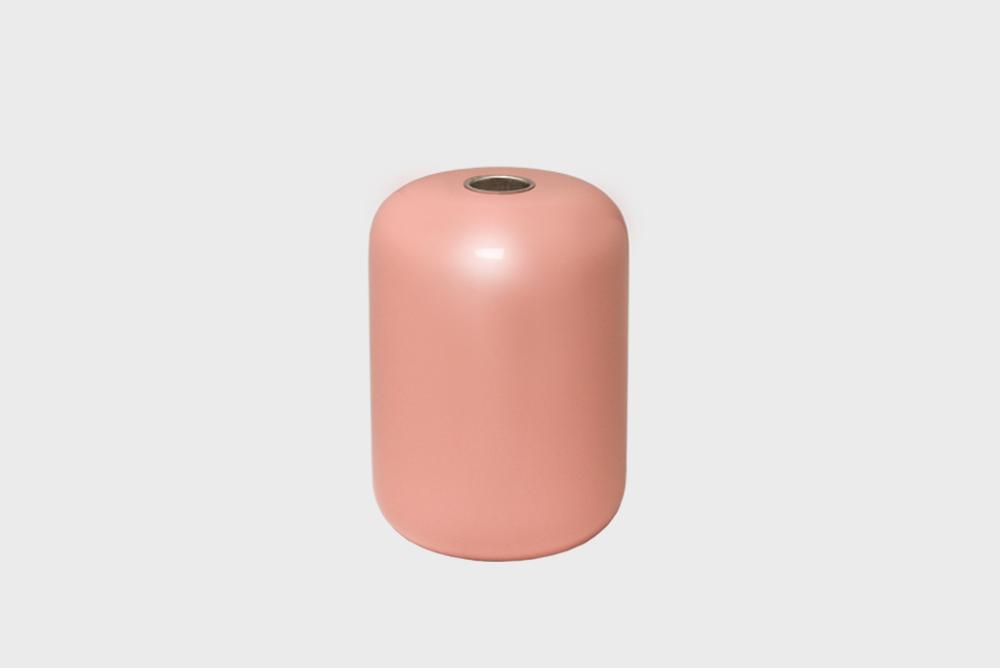 Hakola Soma-kynttilänjalka vaaleanpunainen