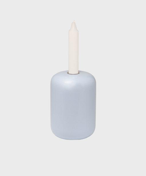 Hakola Soma-kynttilänjalka vaaleansininen
