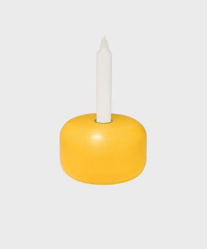 Hakola Sulo-kyntttilänjalka keltainen